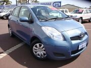 2011 Toyota Yaris NCP90R MY11 YR Blue 5 Speed Manual Hatchback Carey Park Bunbury Area Preview