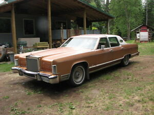Classic Beauty! 1978 Lincoln Town Car