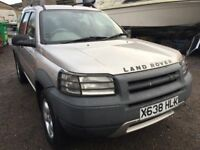 2001 Land Rover Freelander, starts and drives well, MOT until February 2018, does export, car locate
