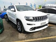 2014 Jeep Grand Cherokee WK MY15 SRT White 8 Speed Sports Automatic Wagon Minchinbury Blacktown Area Preview