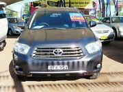 2008 Toyota Kluger GSU40R KX-S 2WD Grey 5 Speed Sports Automatic Wagon Minchinbury Blacktown Area Preview