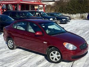2007 Hyundai Accent *BAS KM *PARFAIT ÉTAT *TIMING BELT NEUVE