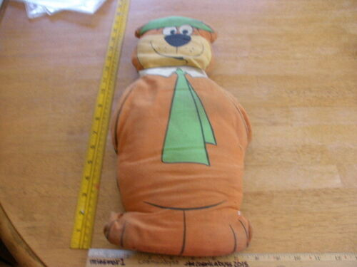 "Yogi Bear 1977 16"" plush pillow Hanna Barbera VINTAGE"