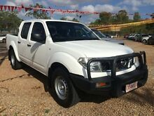 2012 Nissan Navara D40 S6 MY12 RX White 5 Speed Automatic Utility Holtze Litchfield Area Preview