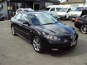 2008 Mazda 3 BK MY08 SP23 Black 5 Speed Auto Activematic Sedan Punchbowl Canterbury Area Preview