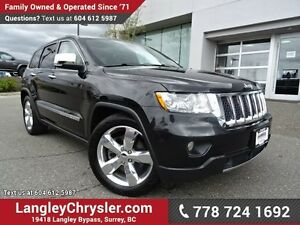 2012 Jeep Grand Cherokee Overland W/ 4X4, QUADRA-LIFT AIR SUS...