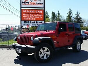 2007 Jeep Wrangler X UNLIMITED 4DR 4X4