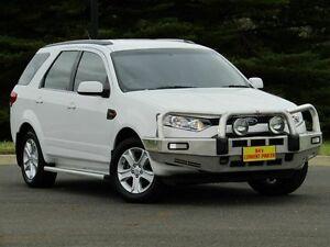 2013 Ford Territory SZ TX Seq Sport Shift White 6 Speed Sports Automatic Wagon Strathalbyn Alexandrina Area Preview