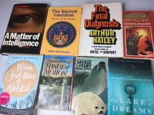 Books, variety of fiction (Lot 11)
