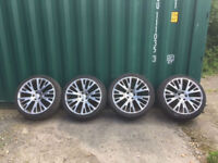 """Land Rover Range Rover Sport 22"""" Alloy wheels and tyres"""