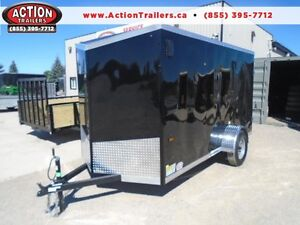 MORE UPGRADES FOR LESS MONEY 2017 HAULIN 6X12 V-NOSE CARGO TRAIL London Ontario image 1
