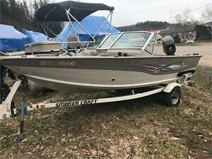 ***SOLD SOLD SOLD*** 2006 16' SMOKERCRAFT ALUMINUM FISHING BOAT