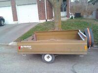 Small  utility trailer