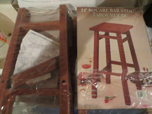 (2) STOOLS - BRAND NEW - IN SEALED UNOPENED PACKAGE