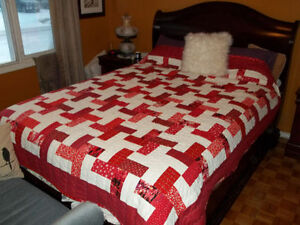 Queen Size Quilt /  NEW PRICE
