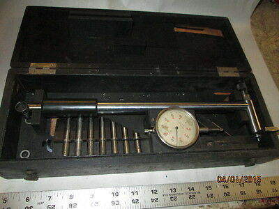 Machinist Tool Lathe Mill Mahr Bore Gage Gauge