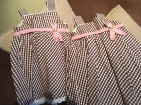 Gorgeous checked dresses from mayoral