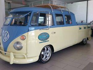 1962 Volkswagen Eurovan Custom Double Cab Pickup