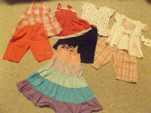 GIRL'S SIZE 4 SUMMER CLOTHES