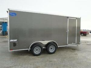 2020 7FT X 16FT Pace Journey V-Nose Cargo Trailer (7,000LBS GVW)