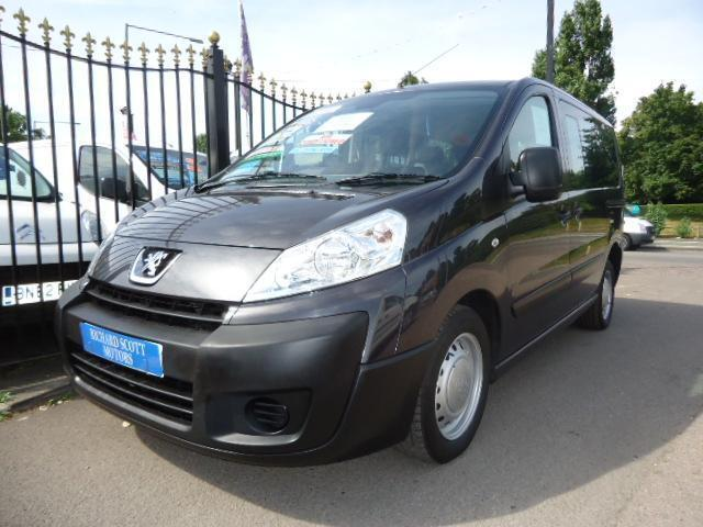 2011 PEUGEOT EXPERT TEPEE 1.6HDi 90 WHEELCHAIR ACCESS VEHICLE