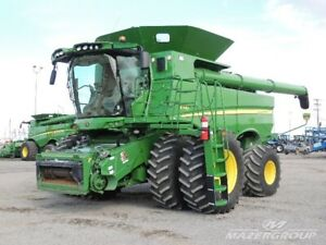 John Deere S780 Combine - Leather, Active Concaves, REDUCED!