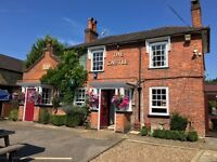FULL & PART-TIME BAR AND KITCHEN JOB VACANCIES in a friendly busy pub in Ottershaw, Surrey
