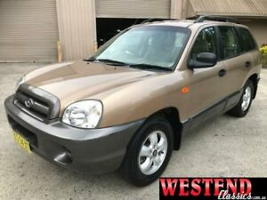 2005 Hyundai Santa Fe SM Brown Sports Automatic Wagon Lisarow Gosford Area Preview
