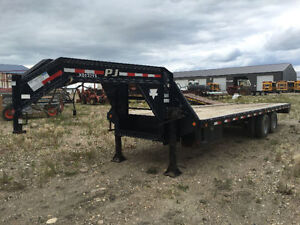 2008 PJ Gooseneck Trailer - 26FT with ramps! MINT!!!