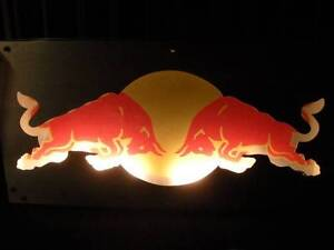 Illuminated Metal Redbull Lightbox SIgn $350 Albion Brisbane North East Preview