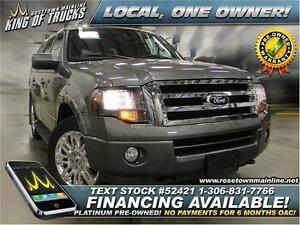 2014 Ford Expedition Limited Local | One Owner | PST PAID!