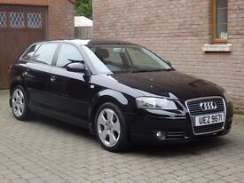 06 Audi A3 2.0d Sport Auto Trade in welcome £3995