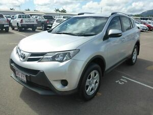 2013 Toyota RAV4 ASA44R GX AWD Silver 6 Speed Sports Automatic Wagon Vincent Townsville City Preview