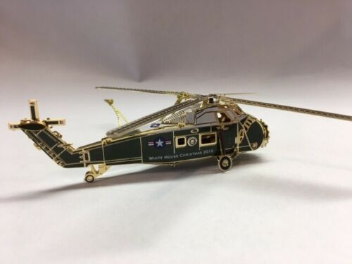 Christmas Ornament 2019 The White House Sikorsky Presidential Helicopter Eisenho