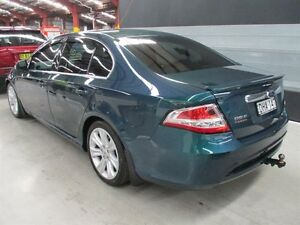 2009 Ford Falcon FG G6E Green 6 Speed Sports Automatic Sedan Maryville Newcastle Area Preview