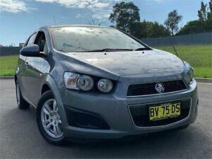 2013 Holden Barina TM MY13 CD Grey 6 Speed Automatic Hatchback Blacktown Blacktown Area Preview