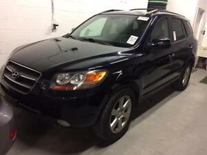 2007 HYUNDAI SANTA FE AWD, LEATHER, SUNROOF, 7 PSGR with 3rd ROW