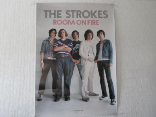 Strokes Room on Fire Promo Poster by BMG