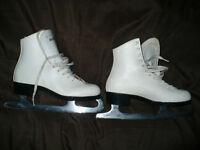 skates, white ,ladies