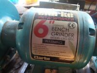 CLARKE 150 MM (6inch) BENCH GRINDER, MODEL CBG 6 RS