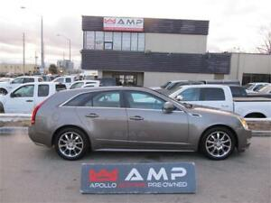 2012 Cadillac CTS RARE! AWD 3.6L 2SETS OF TIRES&RIMS NAVI CAMERA