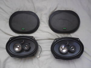 PYLE 6x9, 3-way car stereo speaker