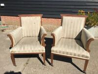 Vintage Chairs For Re-Upholstering