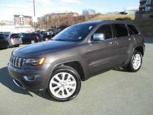 2017 Jeep GRAND CHEROKEE LIMITED (PANORAMIC ROOF, NAVIGATION, HE