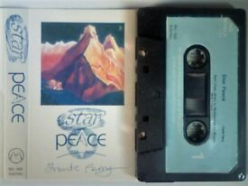 FRANK PERRY STAR PEACE PRERECORDED CASSETTE TAPES. BEL 005. 1989. Other 'Peace' series tapes av.