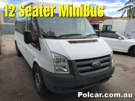 2011 Ford Transit VM MiniBus 12 Seater White Manual