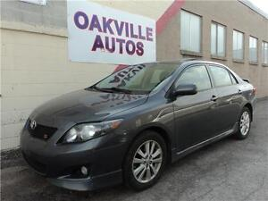 2010 Toyota Corolla S-MANUAL-SUNROOF-WARRANTY