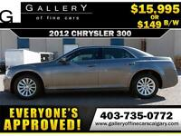 2012 Chrysler 300 TOURING $149 bi-weekly APPLY TODAY DRIVE TODAY
