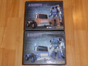 TRANSFORMERS 3RD PARTY X-TRANSBOTS KRANK / HUFFER & STAX / PIPES