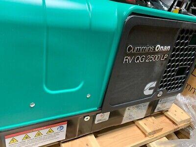 2.5hgjbb1121 Onan Cummins Rv Lp 2.5kw Propane Generator New